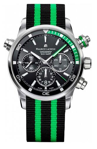 Maurice Lacroix Pontos Chronograph S Green PT6018-SS002-331 Replica Watch