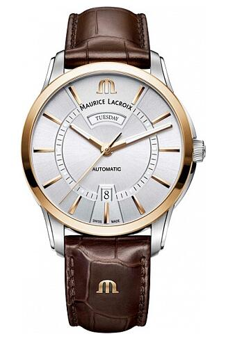 Maurice Lacroix Pontos Day Date PT6358-PS101-130-1 Replica Watch