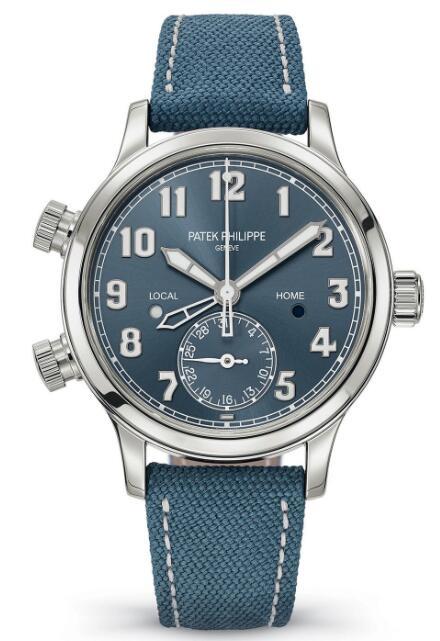 Patek Philippe Ref. 7234A Calatrava Pilot Time Travel 7234A-001 Replica Watch
