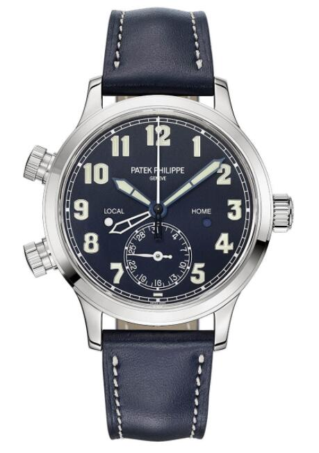 Patek Philippe Ref. 7234G Calatrava Pilot Travel Time 7234G-001 Replica Watch