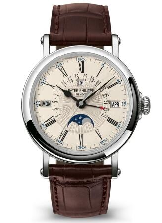 Patek Philippe Grand Complications PERPETUAL CALENDAR WITH RETROGRADE DATE HAND 5159G-001 Replica Watch