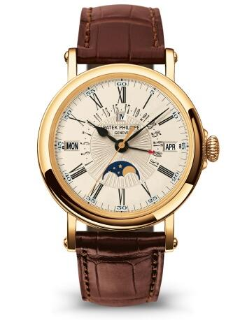 Patek Philippe Grand Complications PERPETUAL CALENDAR WITH RETROGRADE DATE HAND 5159J-001 Replica Watch