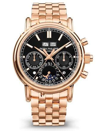 Patek Philippe Grand Complications SPLIT-SECONDS CHRONOGRAPH PERPETUAL CALENDAR 5204/1R-001 Replica Watch