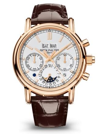 Patek Philippe Grand Complications SPLIT-SECONDS CHRONOGRAPH PERPETUAL CALENDAR 5204R-001 Replica Watch
