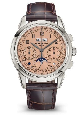 Patek Philippe Grand Complications CHRONOGRAPH PERPETUAL CALENDAR 5270P-001 Replica Watch