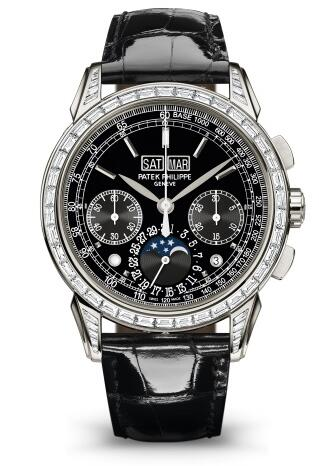 Patek Philippe Grand Complications CHRONOGRAPH PERPETUAL CALENDAR 5271P-001 Replica Watch