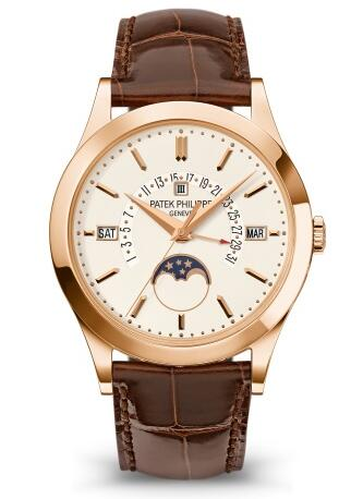 Patek Philippe Grand Complications PERPETUAL CALENDAR WITH RETROGRADE DATE HAND 5496R-001 Replica Watch