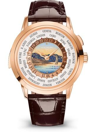 Patek Philippe Grand Complications MINUTE REPEATER WORLD TIME 5531R-012 Replica Watch
