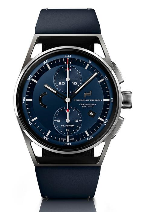 Porsche Design 1919 CHRONOTIMER FLYBACK BLUE & LEATHER 4046901079178 Replica Watch