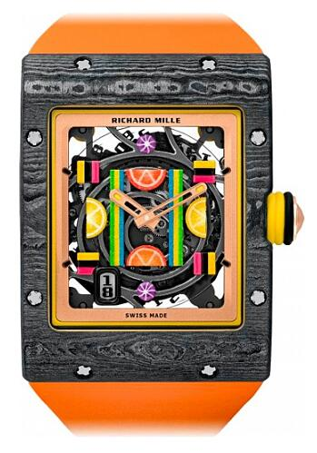 Richard Mille Bonbon RM 16-01 Citron Replica Watch