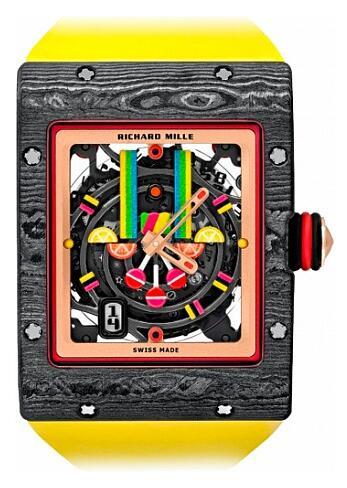 Richard Mille Bonbon RM 16-01 Fraise Replica Watch