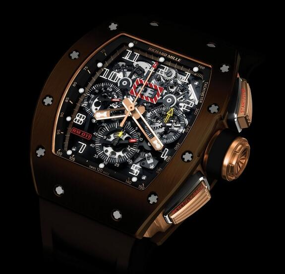 Richard Mille Replica Watch 511.04AY.91-1 RM 011 RG Silicon Nitride