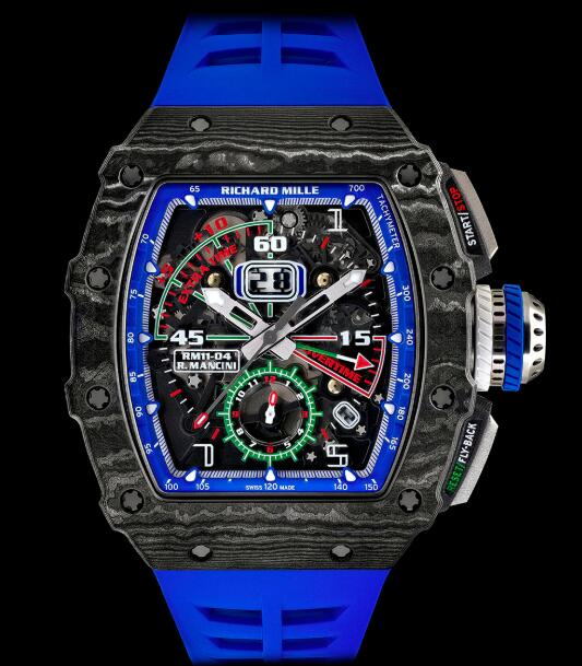 Richard Mille RM 11-04 Automatic Flyback Chronograph Roberto Mancini Replica Watch