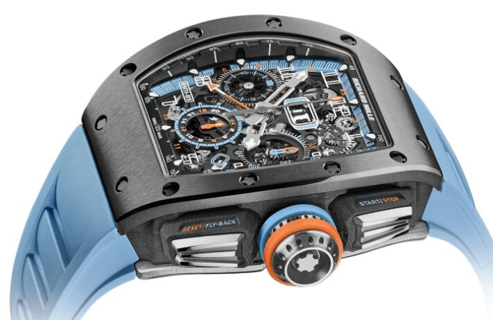 Best Richard Mille RM 11-05 Automatique Chronographe Flyback GMT Replica Watch