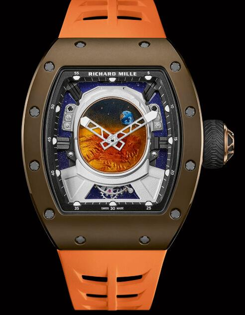 Richard Mille RM 52-05 Tourbillon Pharrell Williams Replica Watch