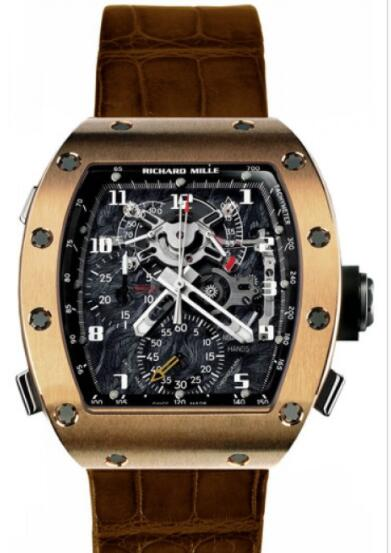 Richard Mille RM 004-V2 Rose Gold Watch Replica