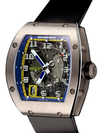 Richard Mille RM 005 Felipe Massa platinum Watch Replica