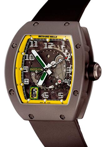 Richard Mille RM 005 Felipe Massa titanium Watch Replica
