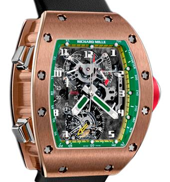 Richard Mille RM 008-V2 Felipe Massa Rose Gold Watch Replica