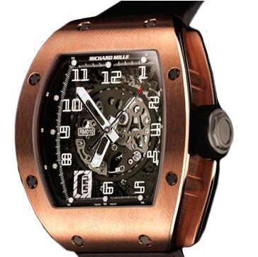 Richard Mille RM 010 Rose Gold Watch Replica
