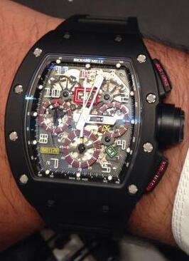 Richard Mille Replica Watch RM 011 Carbon 511.72.91S-1