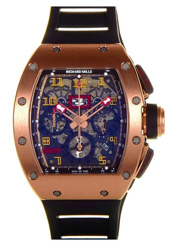 Richard Mille Replica Watch RM 011 Felipe Massa Flyback Chronograph Red Kite