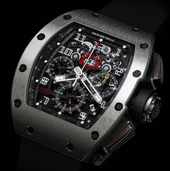 Richard Mille Replica Watch RM 011 Felipe Massa Titanium