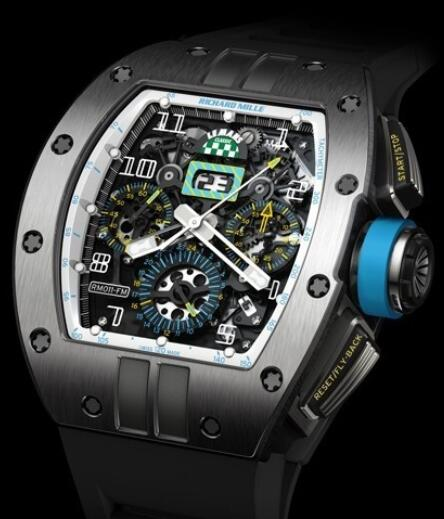 Richard Mille Replica Watch RM 011 Le Mans Classic Titanium