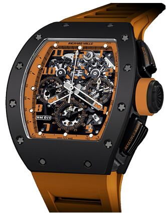 Richard Mille Replica Watch RM 011 Orange Storm TZP