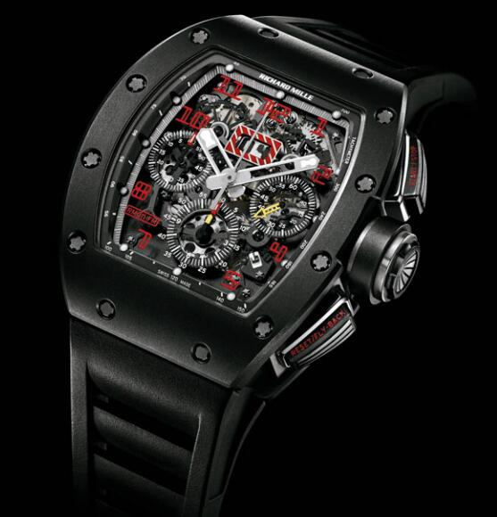 Richard Mille Replica Watch RM 011 Ti Shot Blasted 511.45AS.91R-1