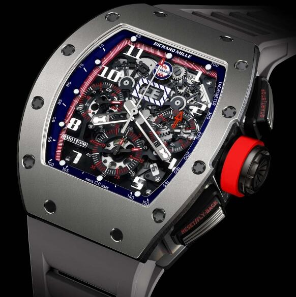 Richard Mille Replica Watch RM 011 Ti Spa Classic 511.45AW.91-1