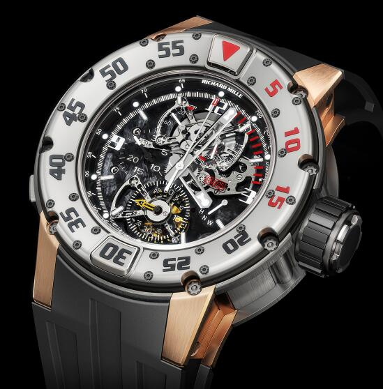 Richard Mille Replica Watch RM 025 Diver 525.45.91 Tourbillon