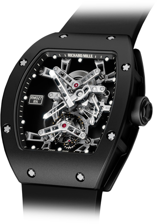 Richard Mille Replica Watch Tourbillon Rafael Nadal RM 027