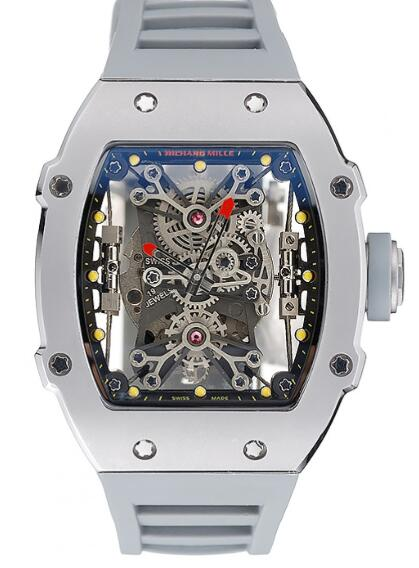 Richard Mille Replica Watch Rafael Nadal RM 027-01 White Rubber