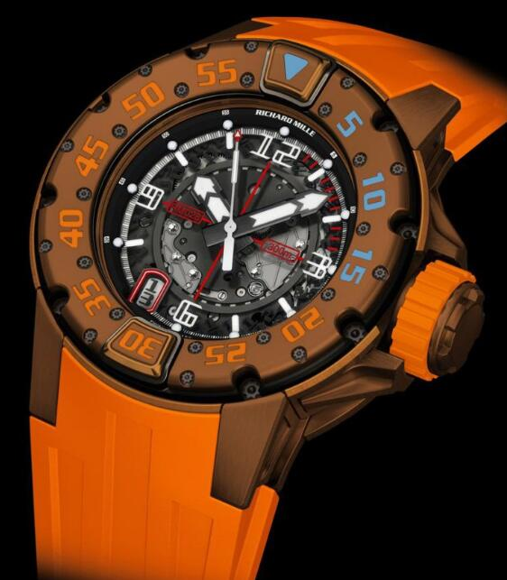 Richard Mille Replica Watch RM 028 Brown
