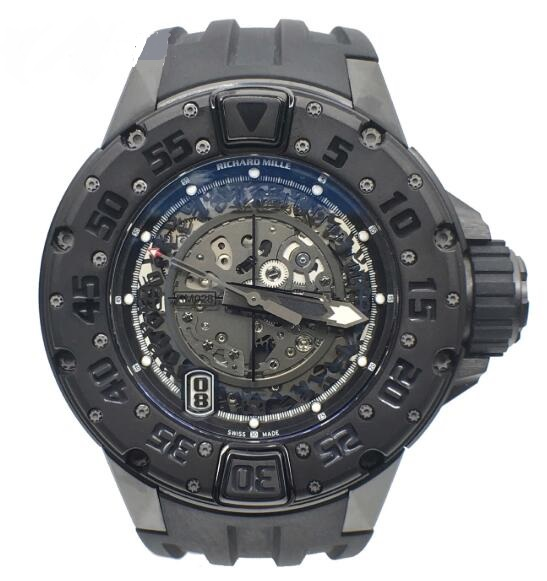 Richard Mille Replica Watch RM 028 Diver All Black