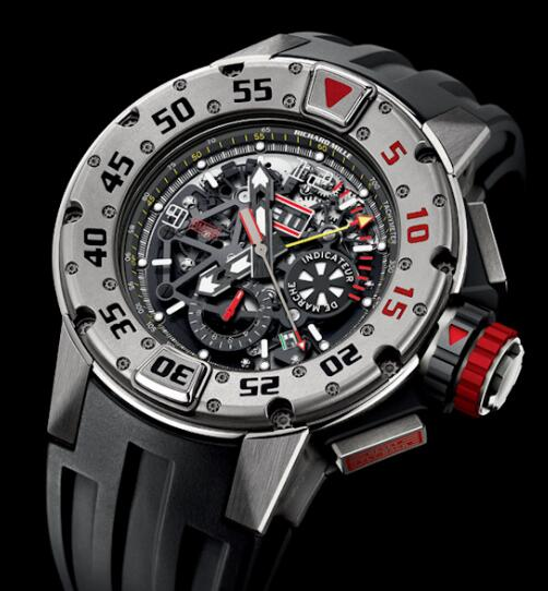 Richard Mille Replica Watch RM 032 Diver Titanium 532.45.91