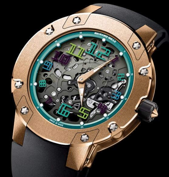 Richard Mille Replica Watch RM 033 Sentebale Red Gold
