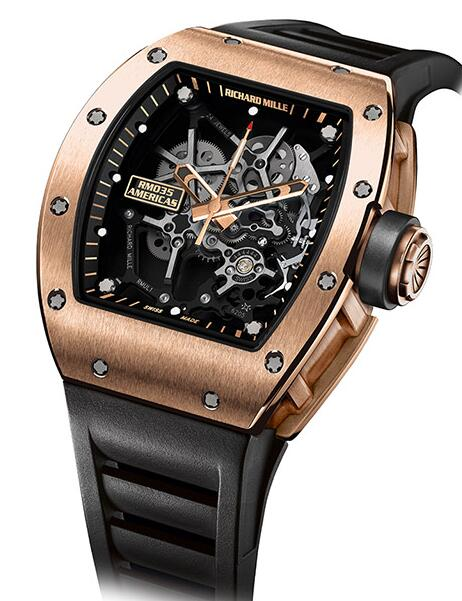 Richard Mille RM 035 Gold Toro Replica Watch