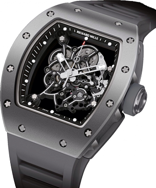 Richard Mille Replica Watch Titanium RM 055 Bubba Watson All Grey