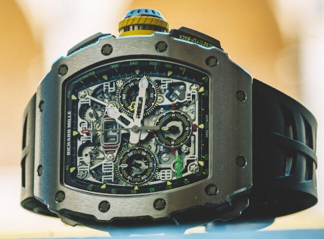 Richard Mille Replica Watch RM 011 AUTOMATIC FLYBACK CHRONOGRAPH RM 11-03 Titanium