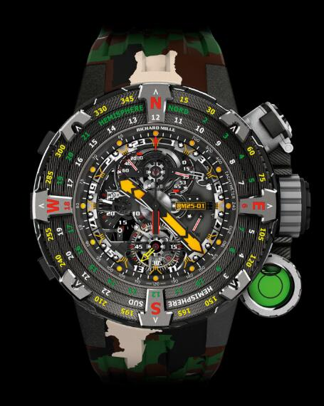 Richard Mille Replica Watch RM 25-01 Tourbillon Adventure Sylvester Stallone