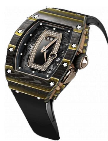 Richard Mille RM 37 Gold Carbon Watch Replica