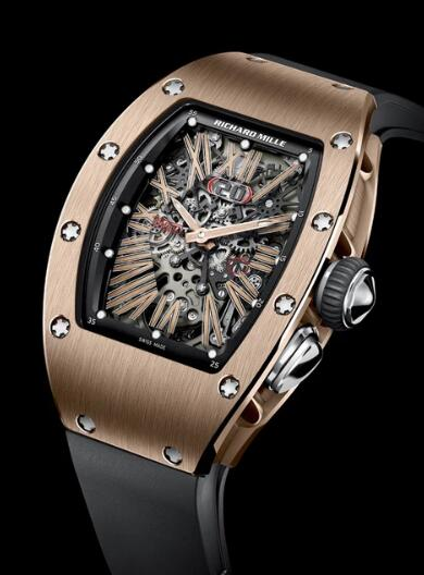 Richard Mille RM 37 Red Gold Watch Replica