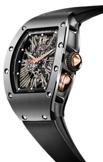 Richard Mille RM 37 Titanium Watch Replica