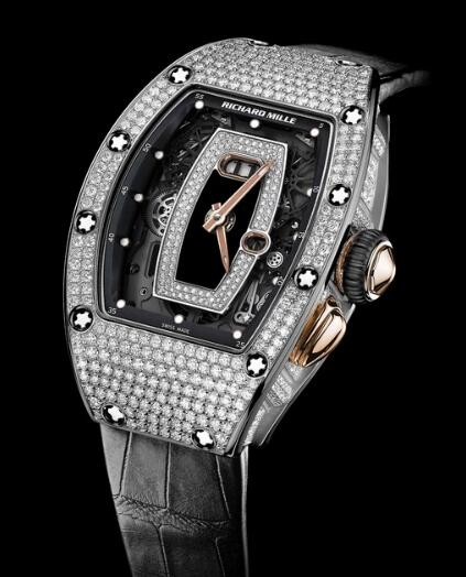 Richard Mille RM 37 White Gold Watch Replica