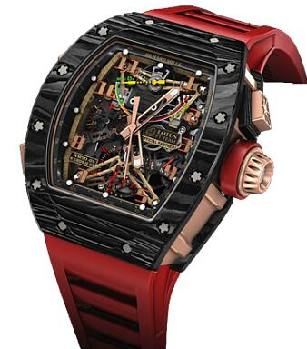 Richard Mille RM 50-01 Sensor Lotus F1 Team Romain Grosjean Watch Replica