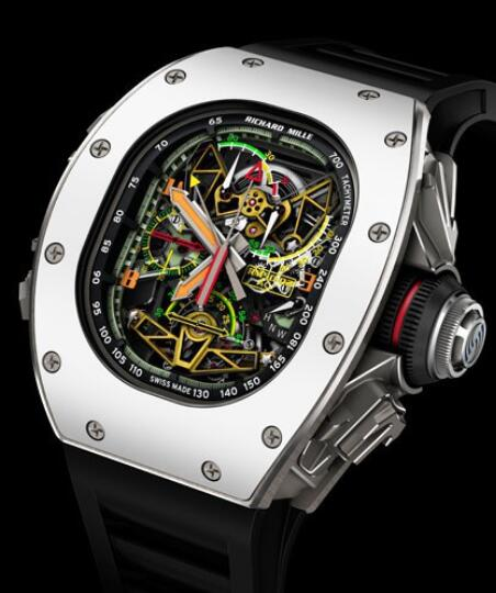 Richard Mille Replica Watch ACJ Tourbillon Split Seconds Chronograph RM 50-02