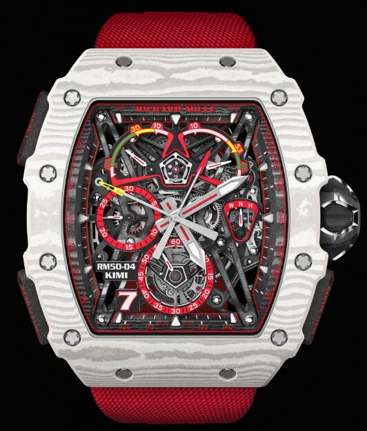 Richard Mille RM 50-04 Tourbillon Split-Seconds Chronograph Kimi Raikkonen Watch Replica