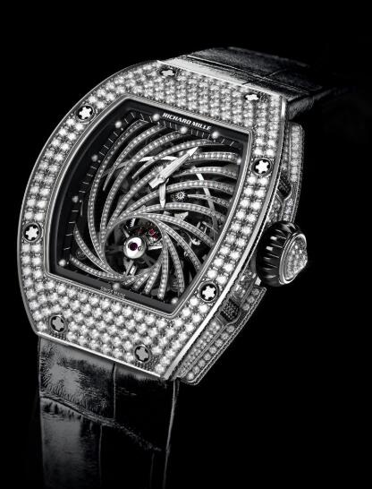 Richard Mille RM 51-02 Tourbillon Diamond Twister Manual Winding Watch Replica